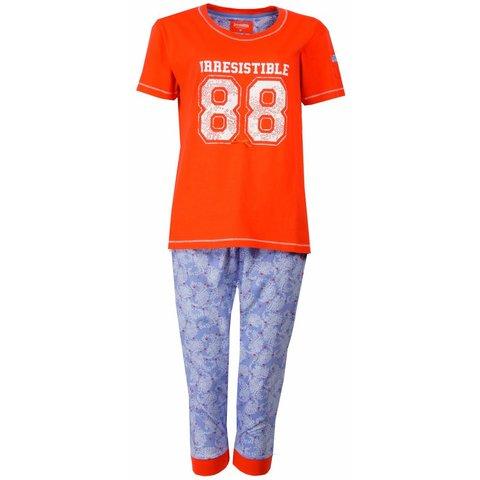Irresistible Dames Pyjama Oranje