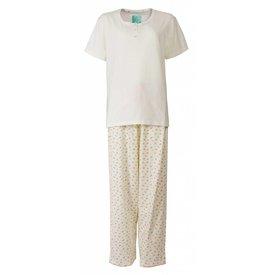 Tenderness Tenderness Dames Pyjama Room Wit  TEPYD1302A