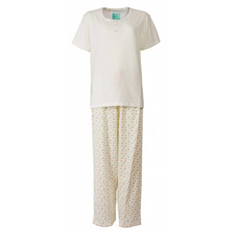 Tenderness Dames Pyjama Room Wit  TEPYD1302A