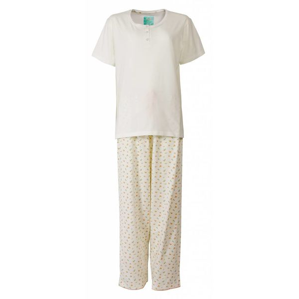 Tenderness Dames Pyjama Room Wit