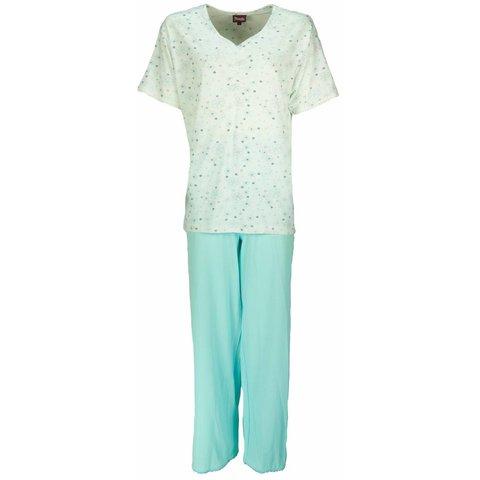 Medaillon Dames Pyjama Mint Groen