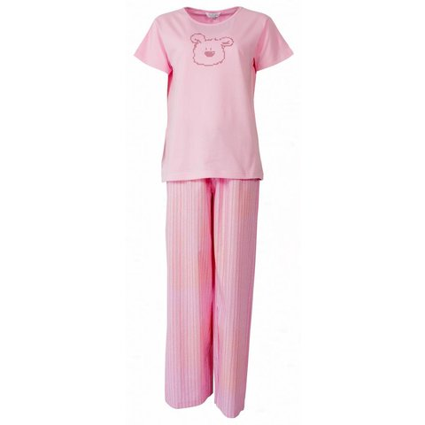 Tenderness Dames Pyjama Roze PYD21043B