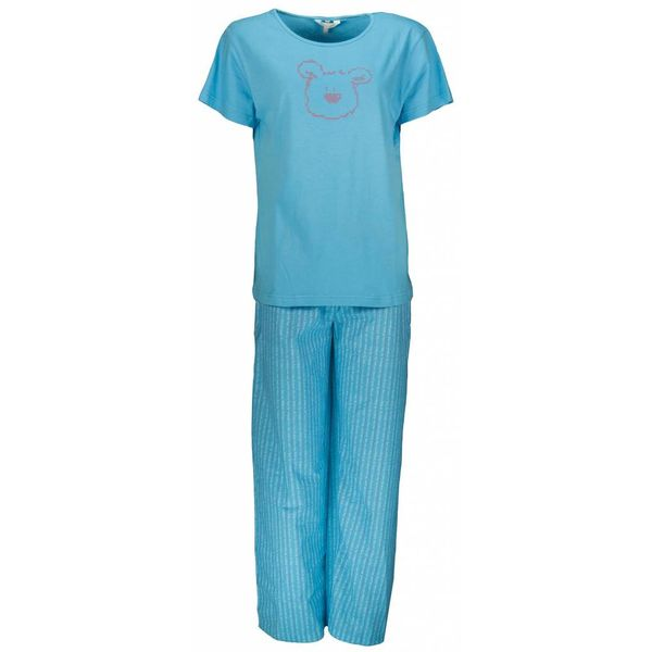 Tenderness Tenderness Dames Pyjama Blauw PYD21043C