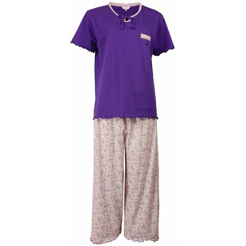 Tenderness Dames Pyjama Paars