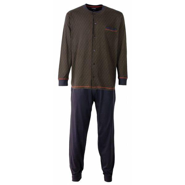 Paul Hopkins Paul Hopkins Heren Pyjama Grijs doorknoop ziekenhuis PHPYH2511A