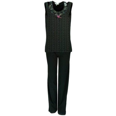 Irresistible Dames Pyjama Zwart