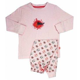 Merkloos AngelFish Roze Meisjes Pyjama Roze AFPYY1304B