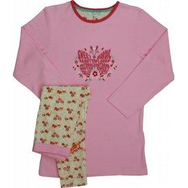 Merkloos Angelfish Roze Meisjes Pyjama AFPYY2009B
