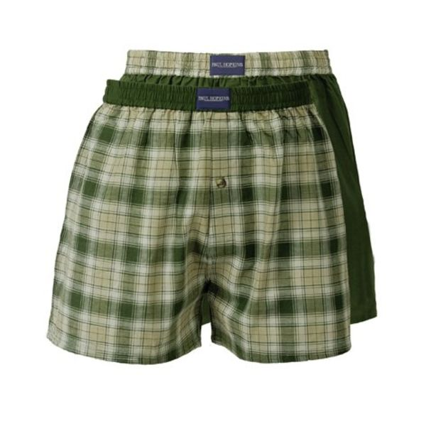 Paul Hopkins Heren boxershort SLH0003WA-Geel/Groen