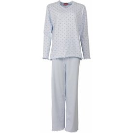 Medaillon Medaillon Dames Pyjama licht Blauw MEPYD1103B