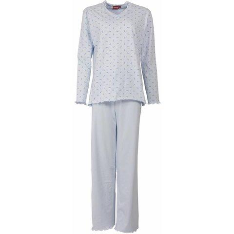 Medaillon Dames Pyjama licht Blauw MEPYD1103B