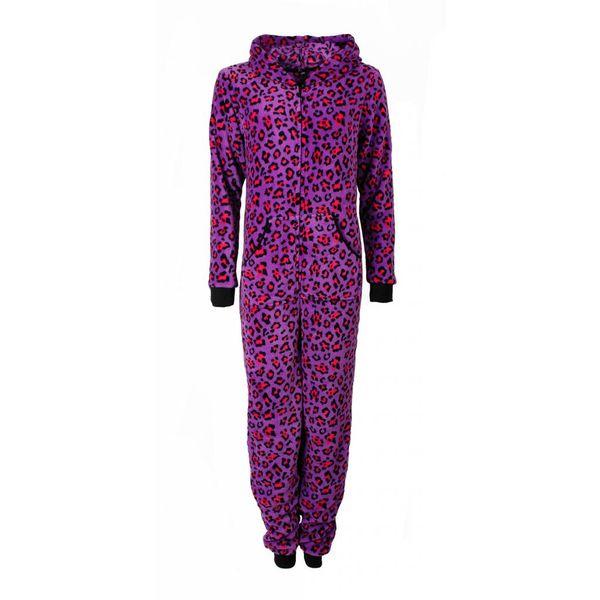 Irresistible Irresistible Dames Onesie Pyjama Paars IRPYD2912A