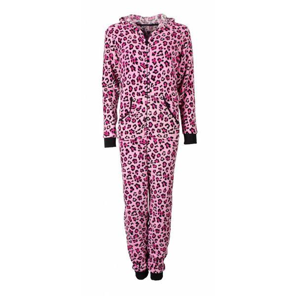 Irresistible Irresistible Dames Onesie Pyjama Roze IRPYD2612B
