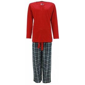 Tenderness Tenderness Dames Pyjama Rood TEPYD2205A