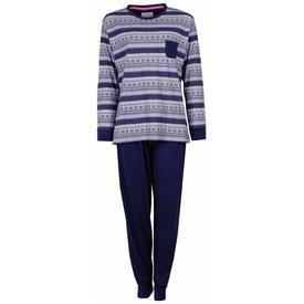 Irresistible Irresistible Dames Pyjama Blauw  IRPYD2409A