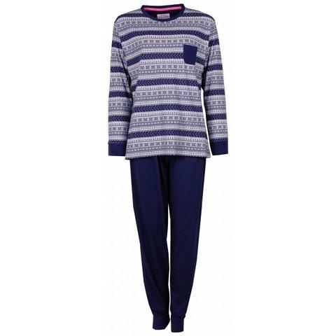 Irresistible Blauw/Wit Dames Pyjama IRPYD2409A