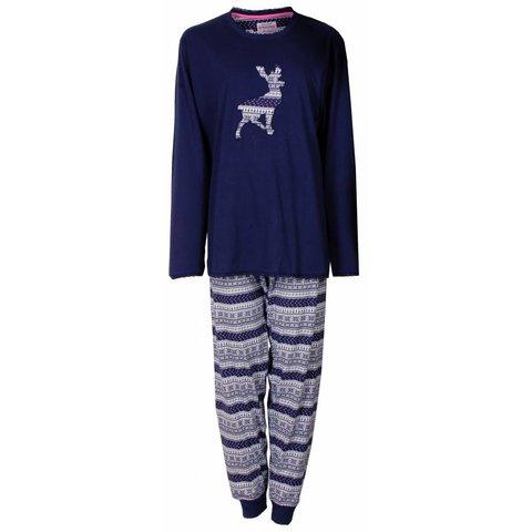 Irresistible Donker Blauw Dames Pyjama  IRPYD2410A