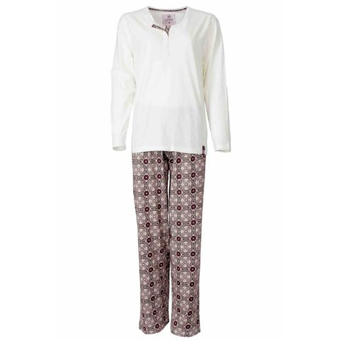 Irresistible Dames Pyjama Wit