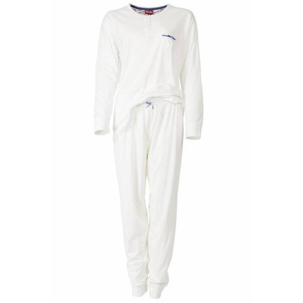 Medaillon Medaillon Dames Pyjama Wit