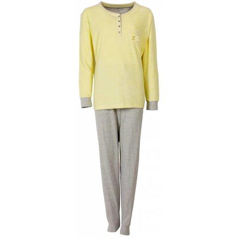 Tenderness Dames Pyjama Geel TEPYD1407A