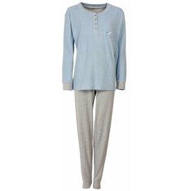 Tenderness Tenderness Blauwe Dames Pyjama TEPYD1407B