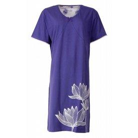 Medaillon Medaillon Dames Nachthemd Blauw