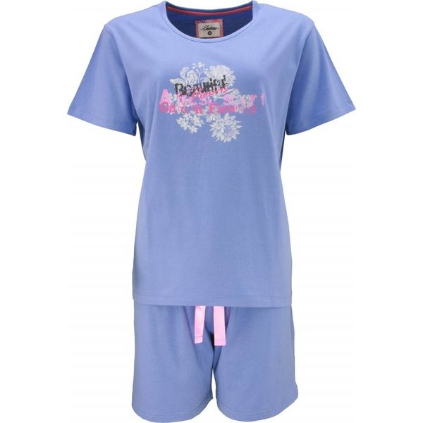 Tenderness Tenderness Dames Shortama Blauw