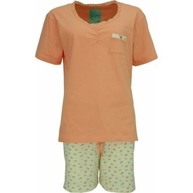 Tenderness Dames Shortama Oranje