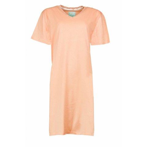 Tenderness Dames Nachthemd Zalm