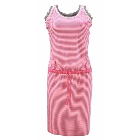 Irresistible Roze-Wit Dames Nachthemd IRNGD1301A