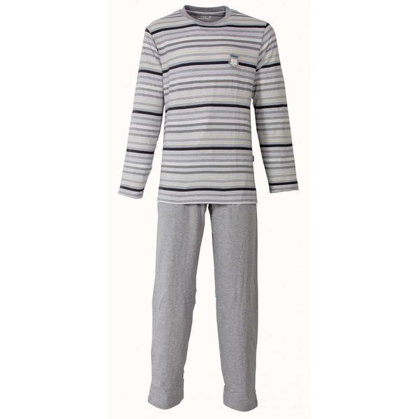 M.E.Q M.E.Q Heren Pyjama Grijs