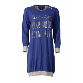 Irresistible Irresistible Blauwe Dames Nachthemd IRNGD2506B