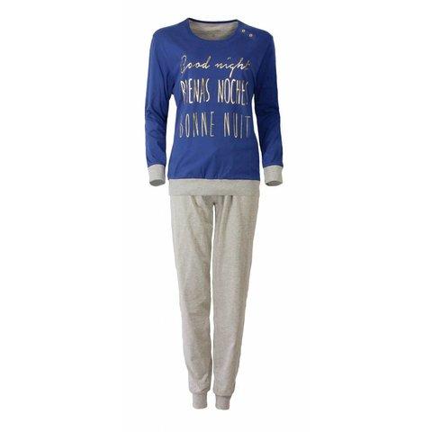 Irresistible Dames Pyjama Blauw