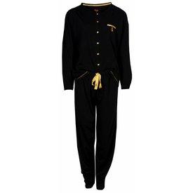 Medaillon Medaillon Dames Pyjama Zwart