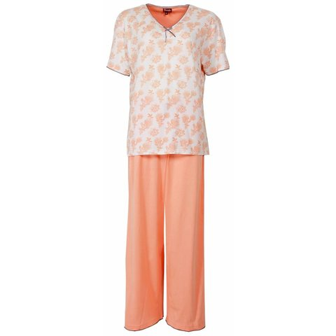 Medaillon Dames Pyjama Oranje