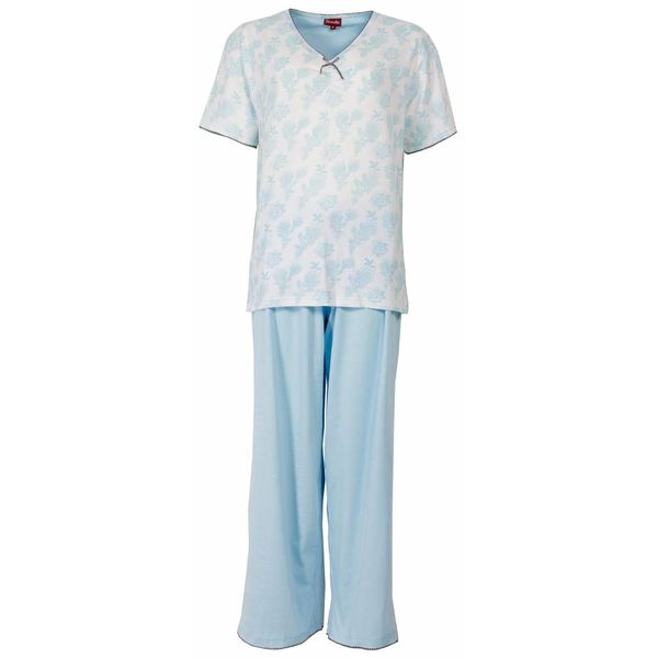 Medaillon Medaillon Dames Pyjama Blauw