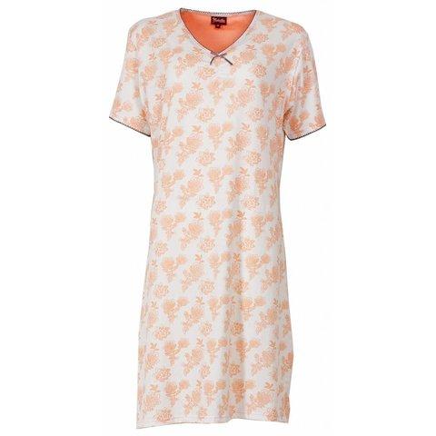 Medaillon Dames Nachthemd Oranje