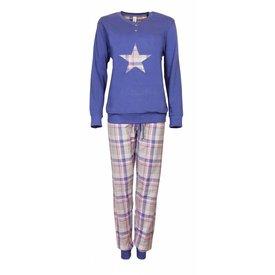 Irresistible Irresistible Dames Pyjama Blauw IRPYD2703B