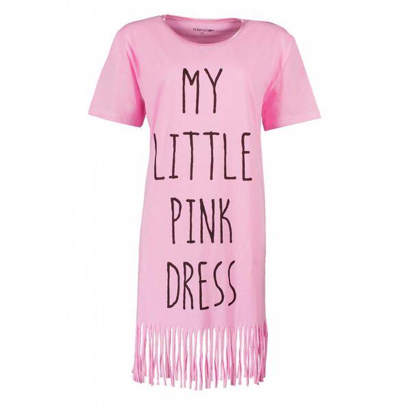Tenderness Tenderness Dames Bigshirt Roze