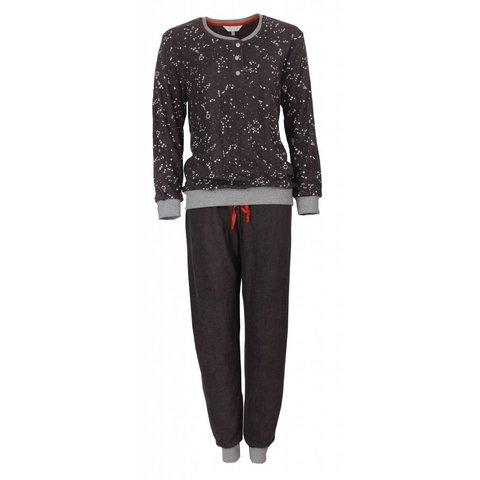 Dames pyjama van badstof met zachte binnenkant. TEPYD2709A-X9