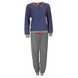 Tenderness Dames pyjama van badstof met zachte binnenkant. TEPYD2710A-W9-10