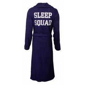 Tenderness Tenderness dames badjas met rug applicatie-Blauw-Z