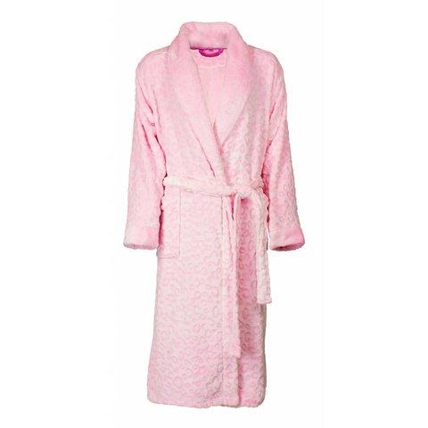 Irresistible dames badjas Roze IRBRD2603A -H3