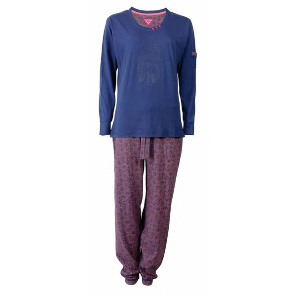Irresistible Irresistible Dames Pyjama Blauw  IRPYD2502B