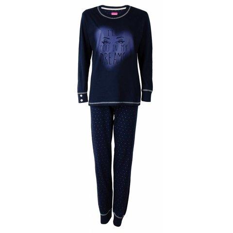 Irresistible Dames Pyjama Blauw IRPYD2503B