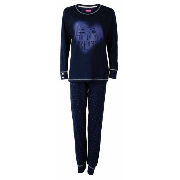 Irresistible Irresistible dames pyjama Blauw IRPYD2503B-L4