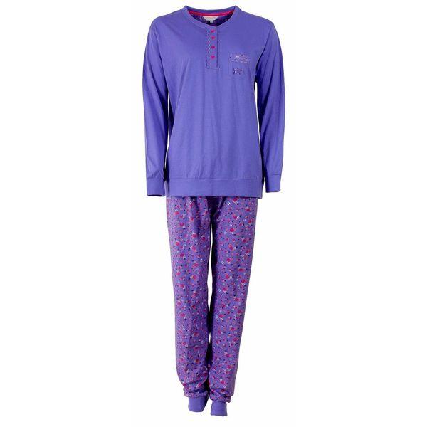 Tenderness Tenderness Dames pyjama Blauw TEPYD2501A-F4