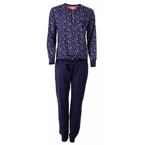 Tenderness Dames pyjama Blauw TEPYD2503A-F4