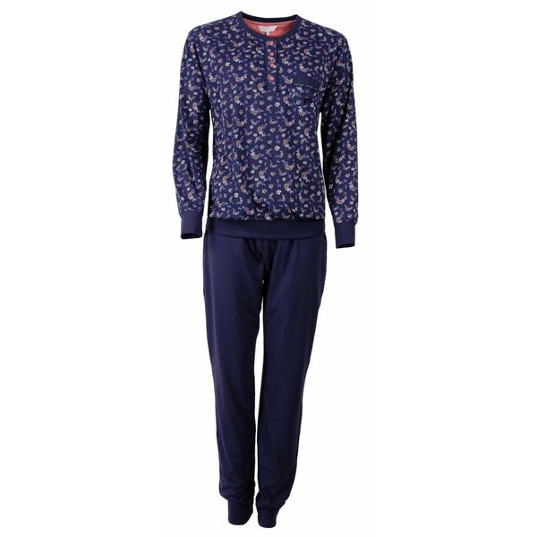 Tenderness Tenderness Dames pyjama Blauw TEPYD2503A-F4