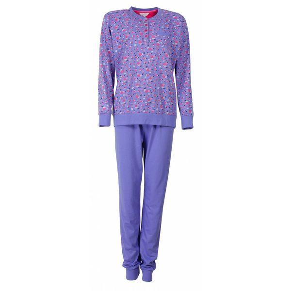 Tenderness Tenderness Dames pyjama Blauw TEPYD2503B-B7